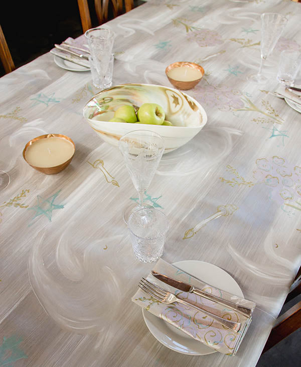 Chagall Doves Tablecloth