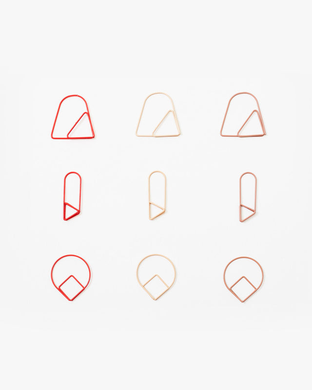 Clips (pack de 9) | Paper Clips (set of 9) - Samtida