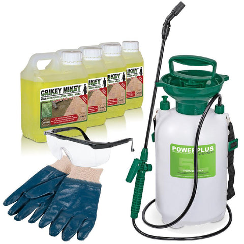 Crikey Mikey Extra Strong Cleaning Solution Complete Kit