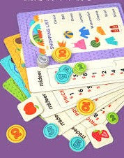 SHOPPING LIST GAME - age (3+)
