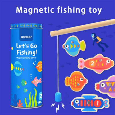 MAGNETIC FISHING GAME - age (2+)