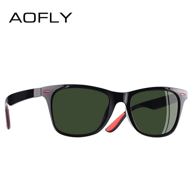 AOFLY Polarizzati Black-Red