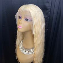 Platinum full lace wig