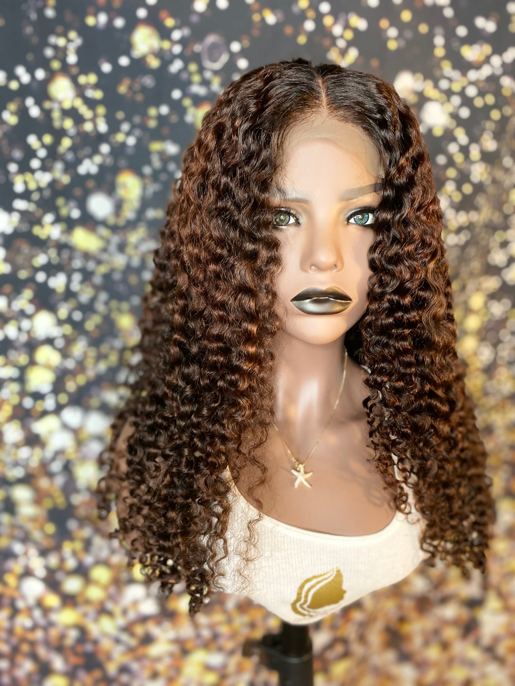 Jerry Curly Closure 4x4 Wig