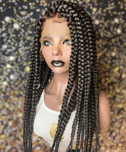 Jumbo Knotless Braided - Full Lace Wig
