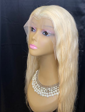 Platinum (HD Transparent) Frontal 13x4 Wig