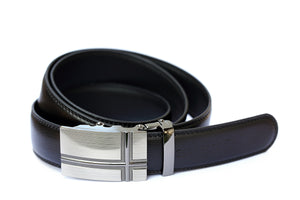 Black Leather Belt SSB5