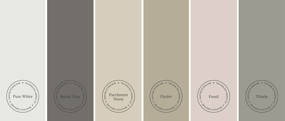 Neutral shades of colour