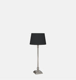 Nickel Table Lamp 38cm