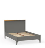 Double bed with low toeboard
