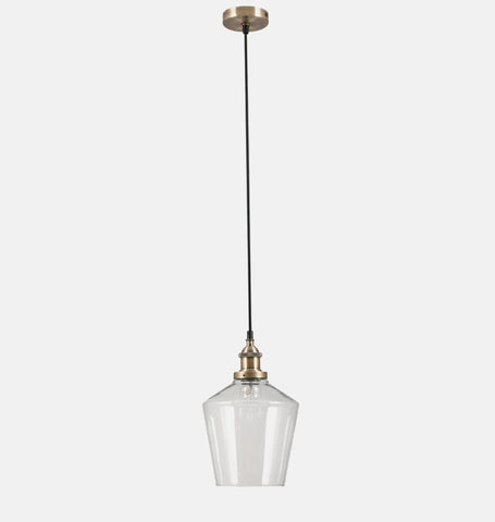 Brass Single Pendant Light