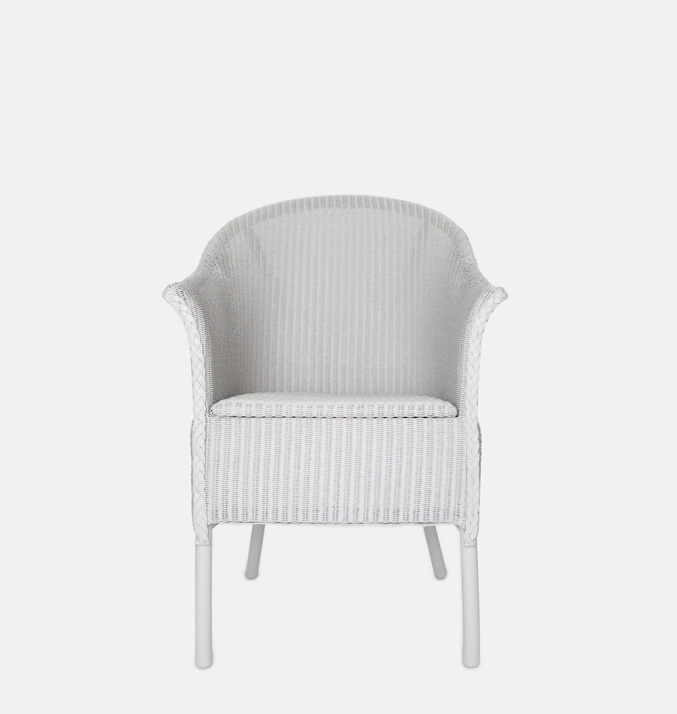 Lloyd Loom bedroom armchair