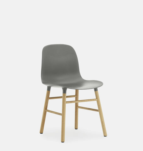 Normann copenhagen Grey Form Chair