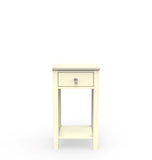 Open bedside table