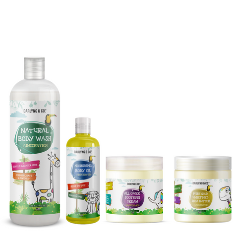 Darylng&Co Unscented Skincare Bundle - Large