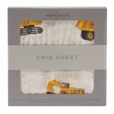 Yellow Digger Crib Sheet