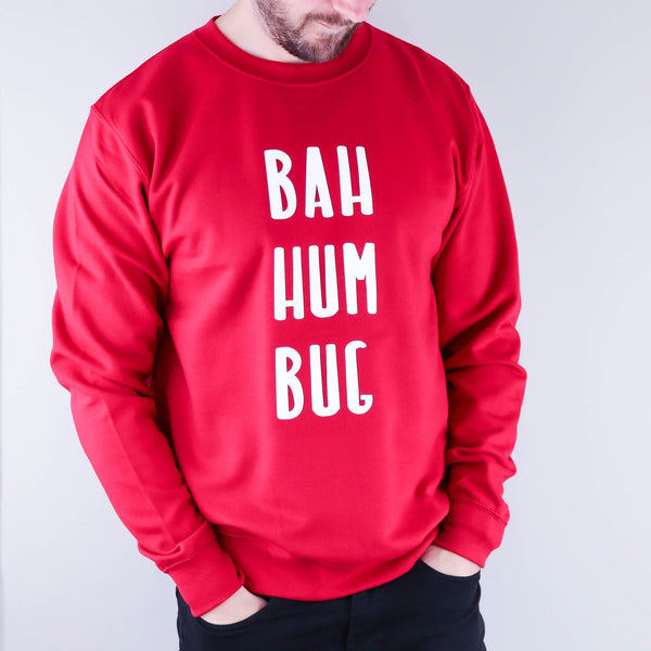 Bah Hum Bug Christmas Jumper