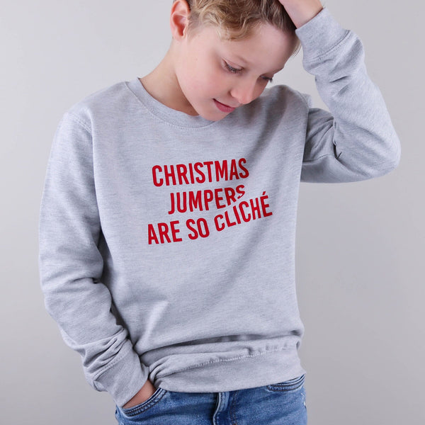Kids Cliché Christmas Jumper