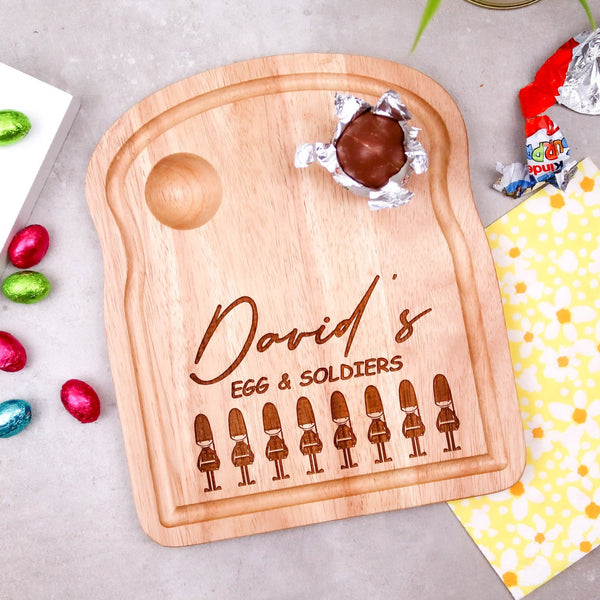 Egg and Soldiers Boards