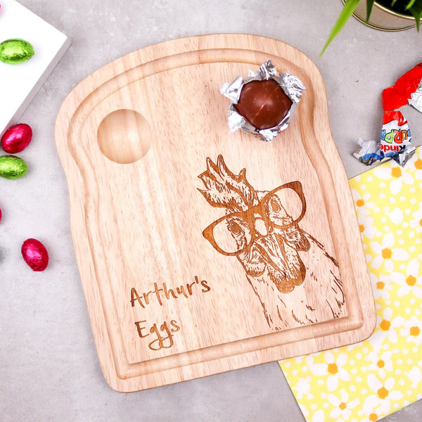 Cute Chicken Breakfast Board