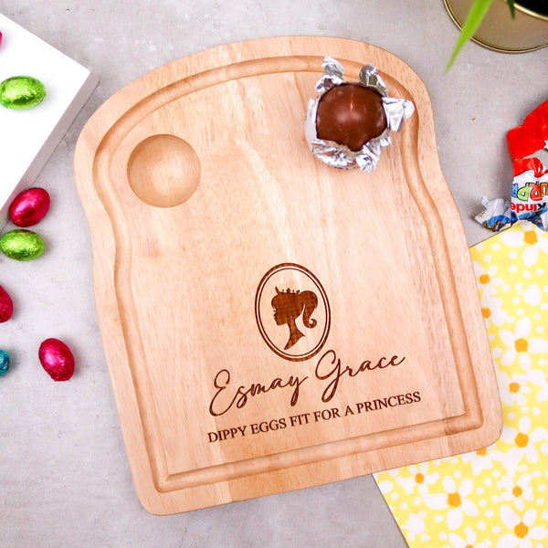 Cute Princess Dippy Egg Board