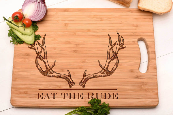 Eat The Rude Chopping Board