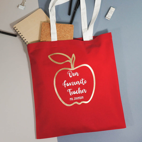 Favourite Teacher Shopper Bag