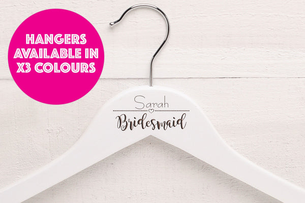 Personalised Wedding Hangers WH1