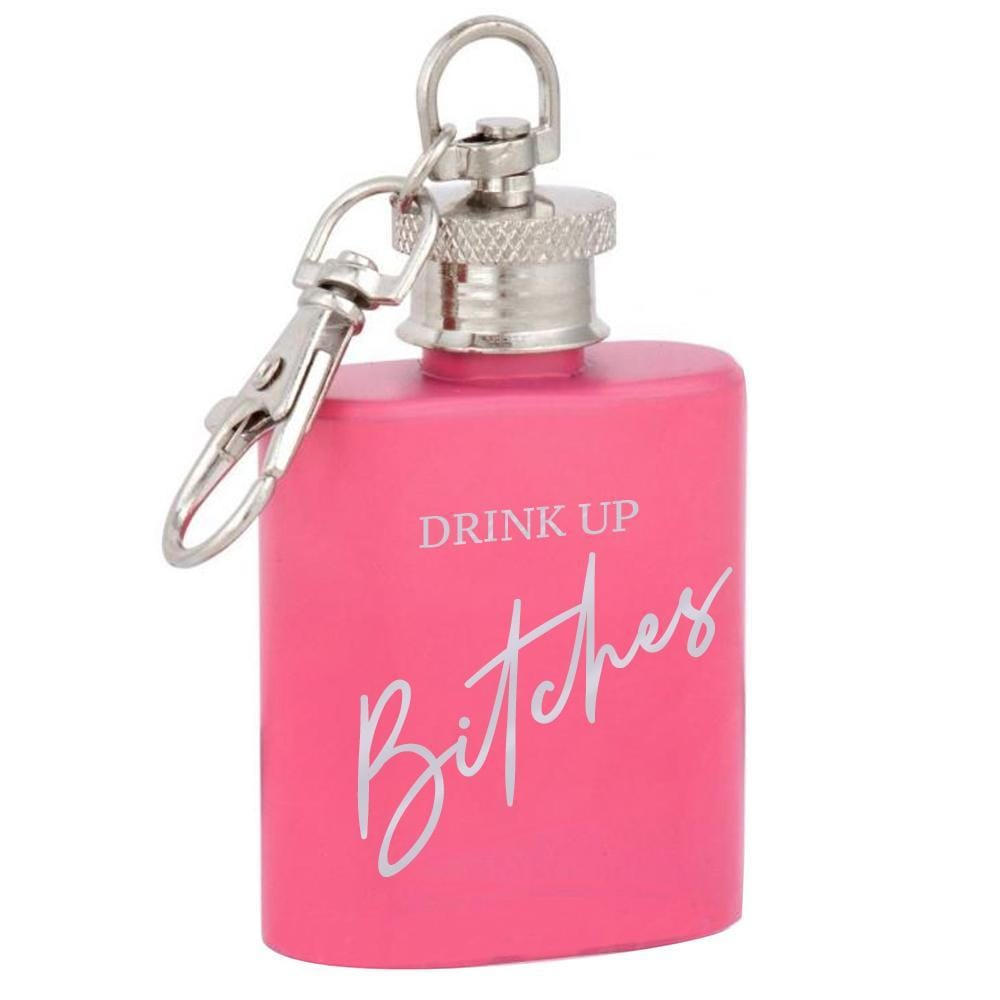 B**CHES MINI HIP FLASK 1OZ-OMG82