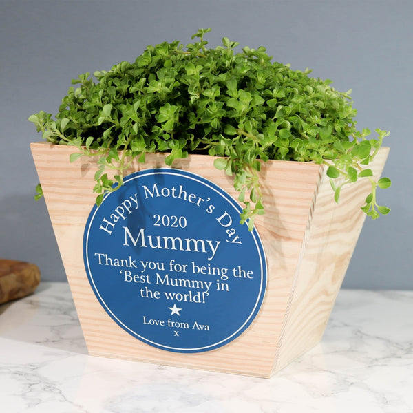 Heritage Sign Mothers Day Planter