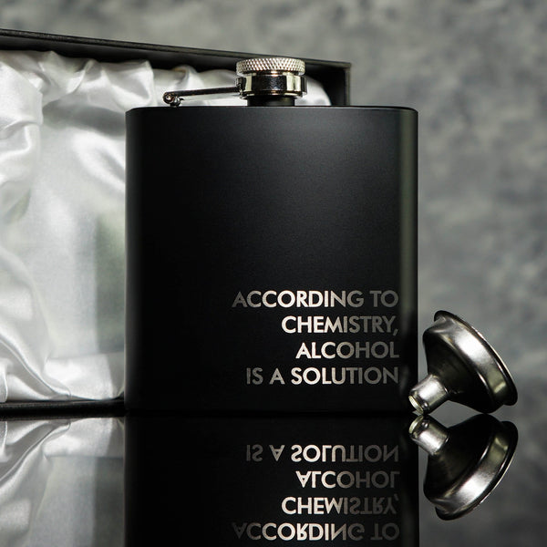 Chemistry Design Hip Flask OMG1-HIPBLK