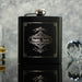 HIP FLASK BEST MAN GIFT OMG18-HIPBLK