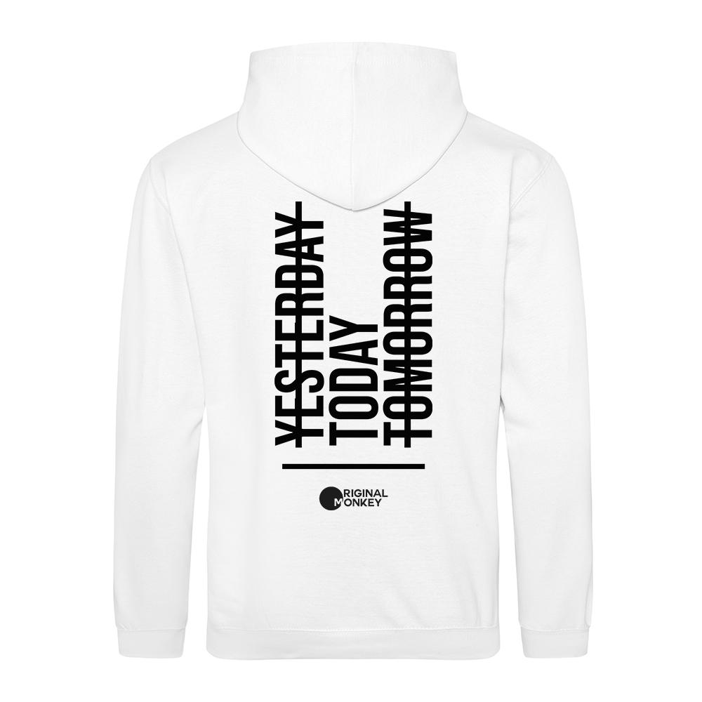 PVibe Motivational Hoodies, yesterday today tomorrow Gym Hoody