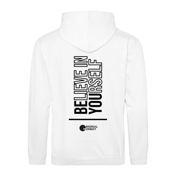 PVibe Motivational Hoodies, Believe in yourself Gym Hoody