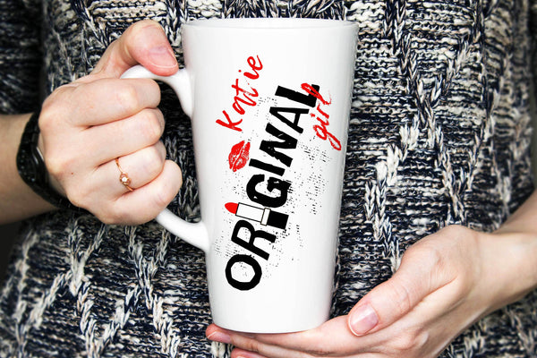Original Girl Latte Mug