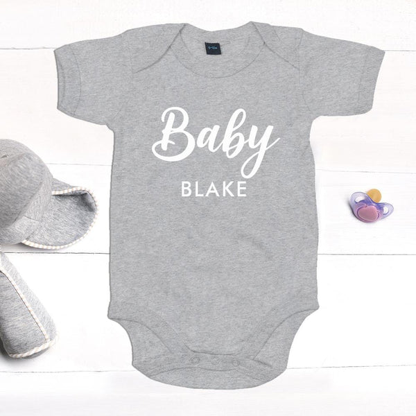 Personalised Baby Grow Amuba