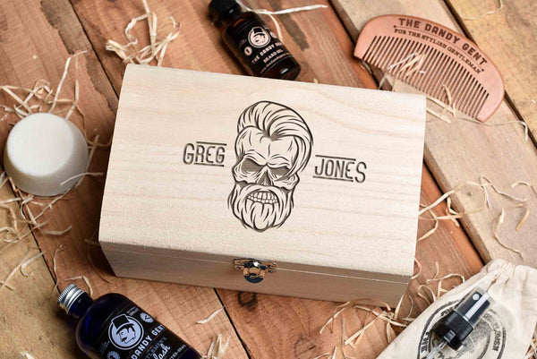 Beard Grooming Kit Gift Box