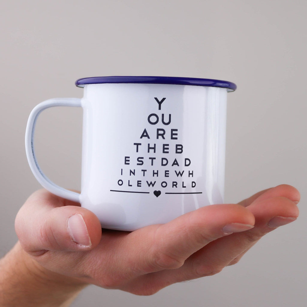 Best Dad Enamel Mug