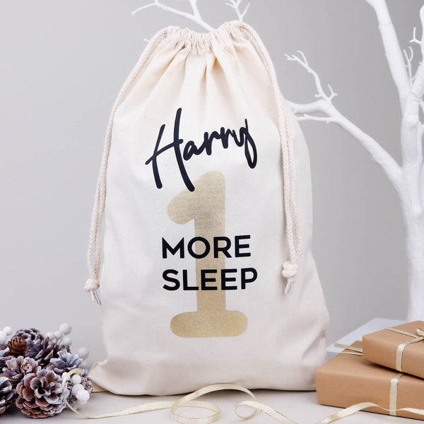 1 More Sleep Christmas Eve Bag