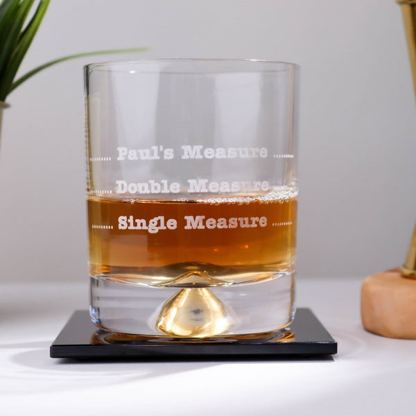 Personalised Measure Tumbler