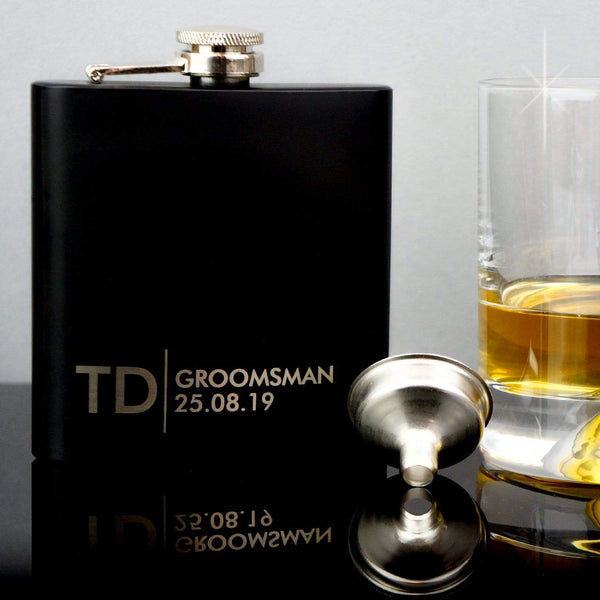 Groomsmen Hip Flasks HF4