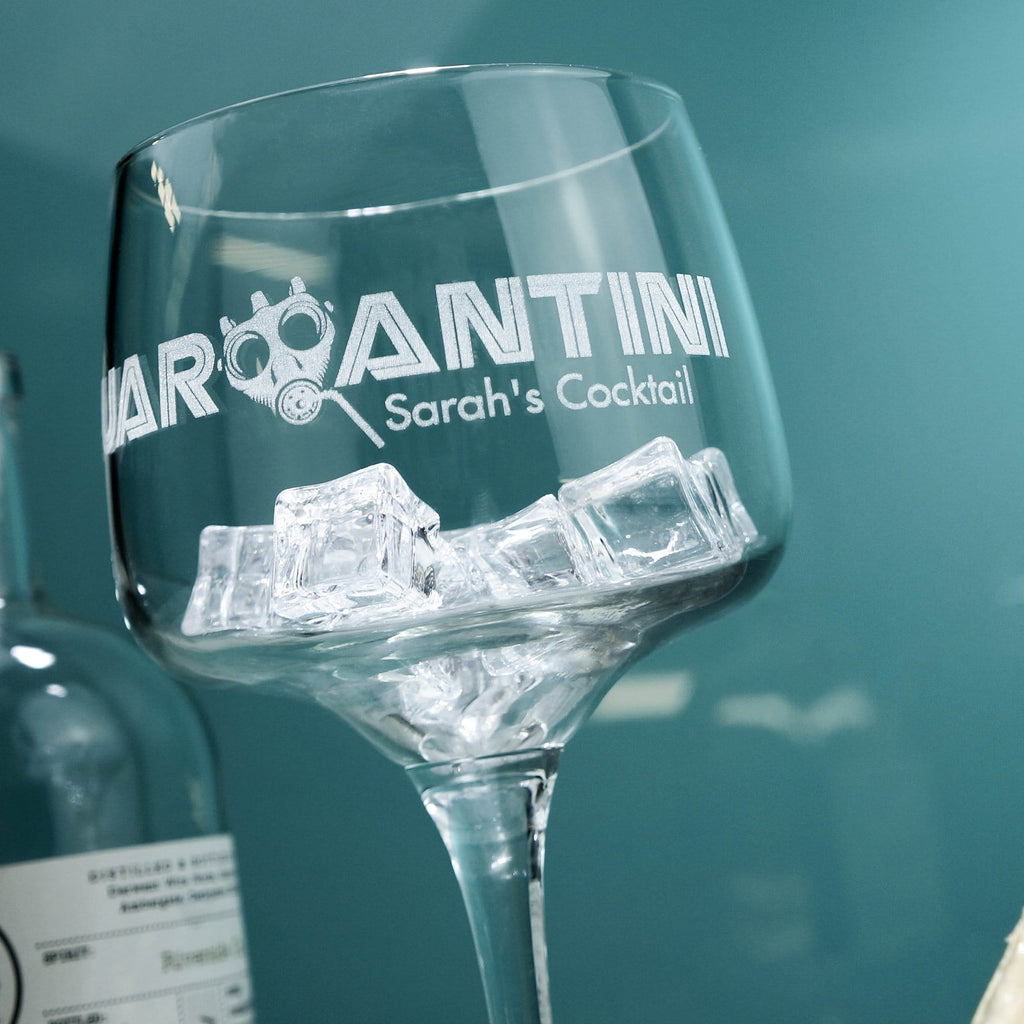 Quarantini Glass