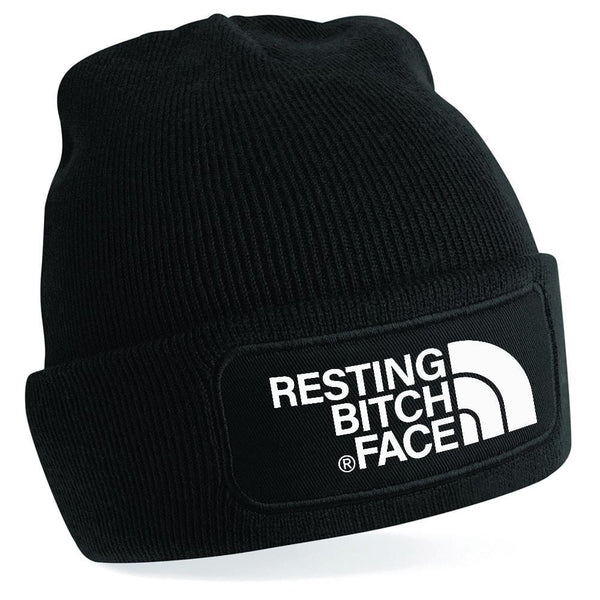 Resting Bitch Face Beanie BC445-OMG32
