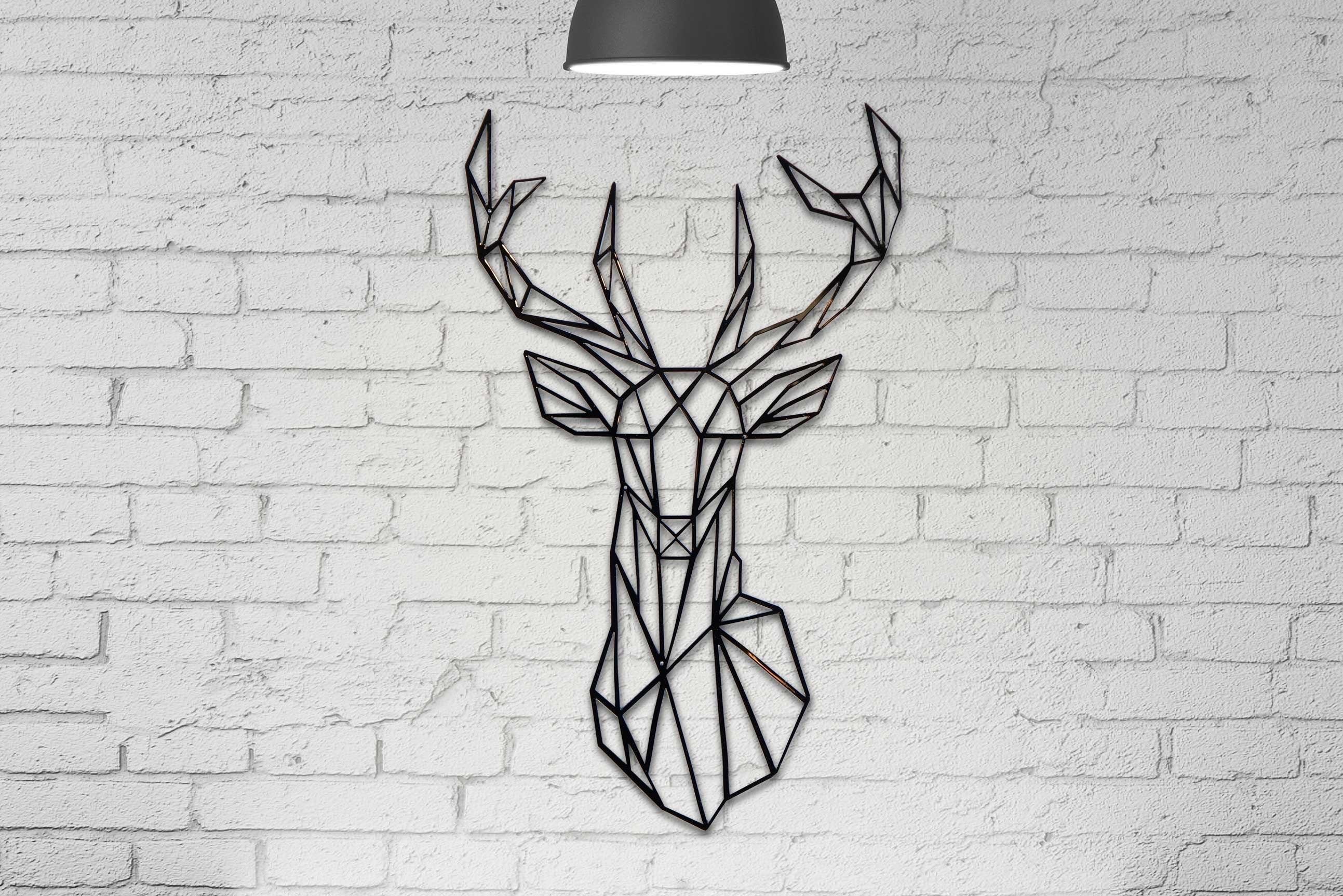 Stag Head Wall Decor