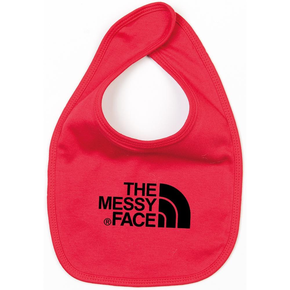 THE MESSY FACE BIB