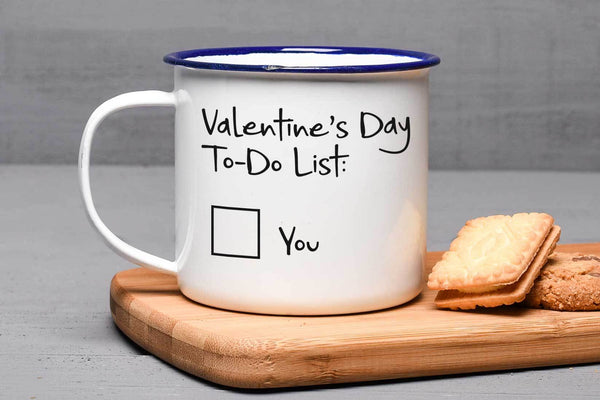 Valentines To Do List Mug