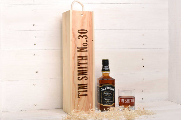 Whiskey Glass & Box Set