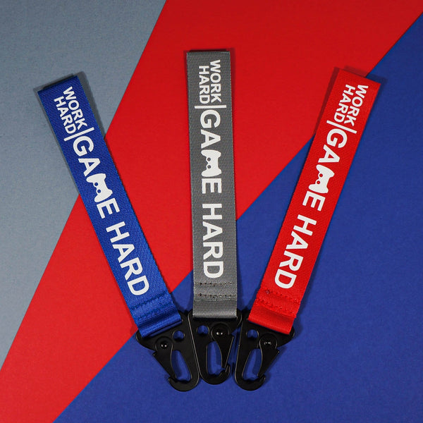 GAME HARD Bag Clips