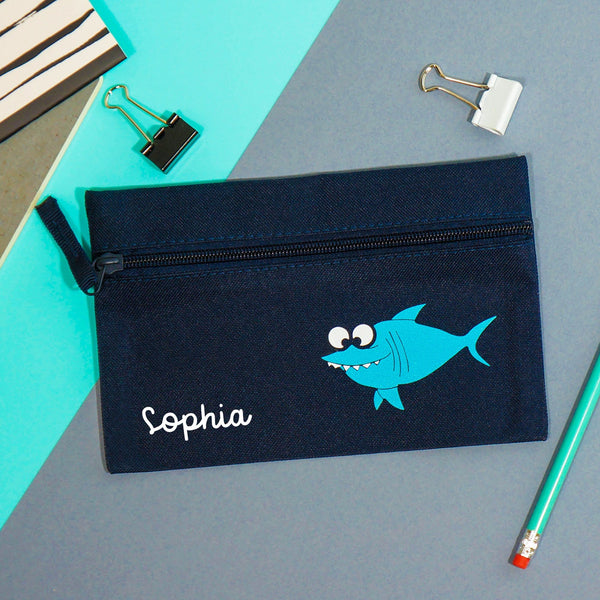 Shark Backpack & Pencil Case