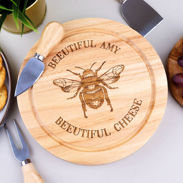 Bee-utiful Cheese Board